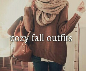 autumn, cozy, and outfits image