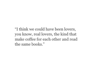 books, coffe, and lovers image