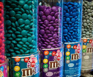 m&m, chocolate, and m&m's image