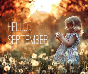 hello september, autumn, and September image