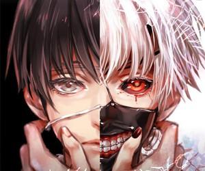 anime, ghoul, and manga image