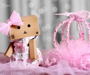 pink, danbo, and princess image