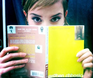book, emma watson, and movie image