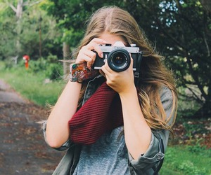 girl, photograph, and vintage image