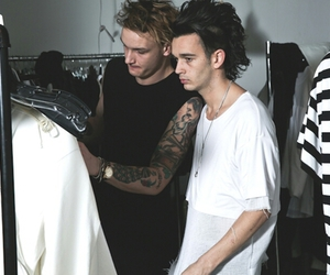 the 1975, matt healy, and matty healy image