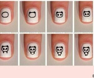 nails, panda, and tutorial image