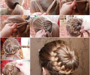 awesome, braid, and diy image