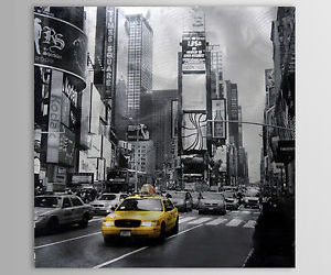 black white, car, and new york image
