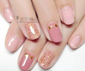 girly, nail polish, and nails image