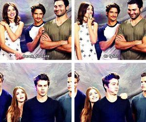 teen wolf, lydia, and tyler posey image