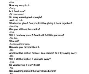 broken, brokenheart, and crying image