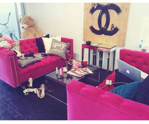 chanel, pink, and style image
