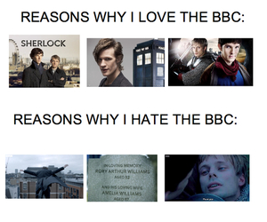doctor who, merlin, and sherlock image
