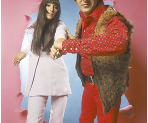 60's, sonny, and cher image