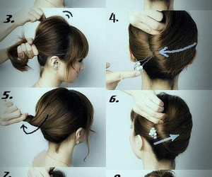 Easy, hair, and wedding image