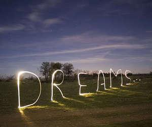 Dream, light, and sky image