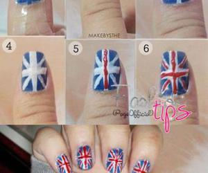 nails, tutorial, and england image