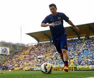 messi, Barcelona, and football image