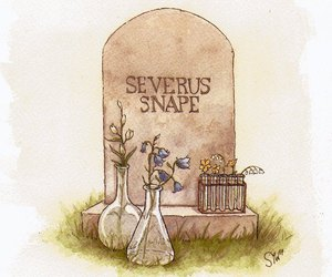 harry potter, severus snape, and snape image