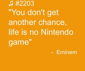 eminem, life, and qoutes image