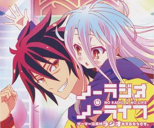 no game no life, anime, and shiro image