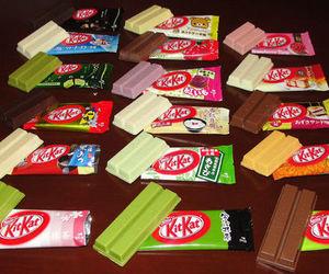 kitkat, chocolate, and food image