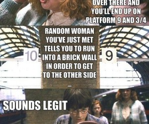 harry potter, funny, and molly weasley image