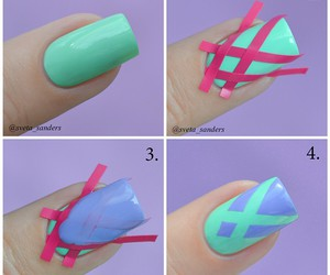beauty, nail art, and tutorial image