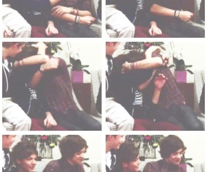 bravery, larry stylinson, and louis tomlinson image