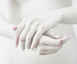 hands, blood, and pale image