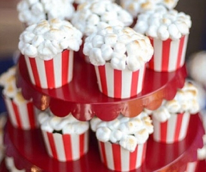 cupcake and popcorn image