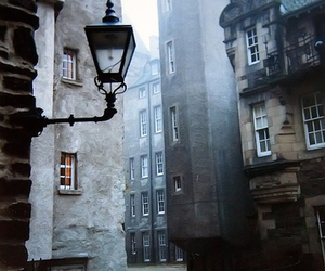 street, scotland, and edinburgh image
