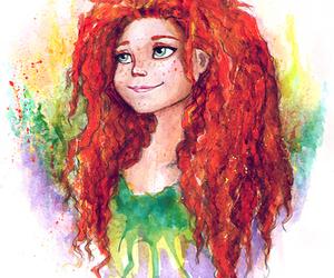 brave, disney, and ginger image
