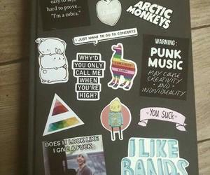 arctic monkeys, notebook, and grunge image