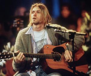 kurt cobain, magic, and music image