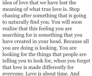 relationships, chasing, and time image
