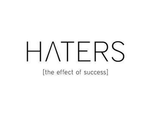 haters and success image
