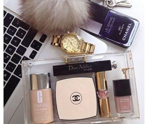chanel, makeup, and dior image