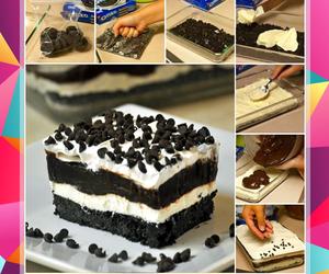 chocolate, oreo, and pastel image
