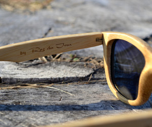 sustainable, eye wear, and wooden sunglasses image
