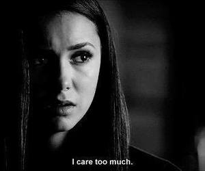 tvd, elena gilbert, and care image