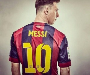 messi, Barcelona, and fcb image