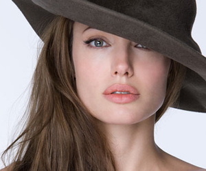 Angelina Jolie, beautiful, and hat image
