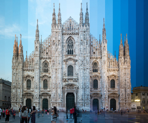 hour, time, and milan image