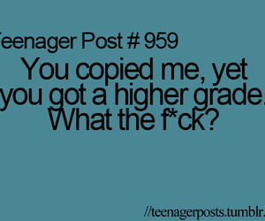 grades, teenager post, and copy image