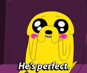 JAKe, perfect, and adventure time image