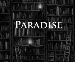books, tumblr, and paradise image