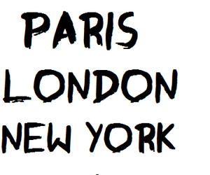 london, new york, and los angeles image