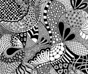 art and doodle image