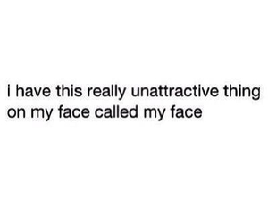 face, ugly, and unattractive image